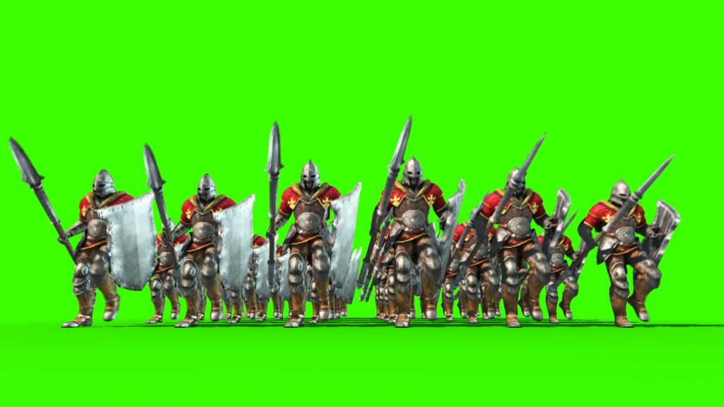 Legion of Soldiers – 3D Model Animated
