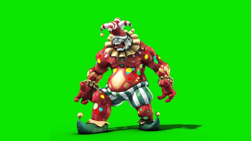Cyclops Clown – 3D Model Animated