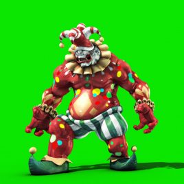 Cyclops Clown – 3D Model Animated