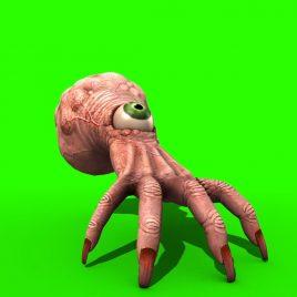 Monstrous Hand – 3D Model Animated