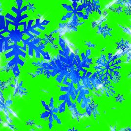Christmas Snowflakes – 3D Model Animated