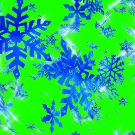 Christmas Snowflakes – 3D Model Animated