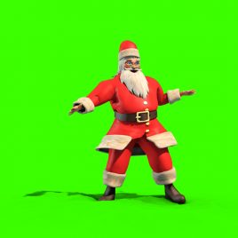 Santa Claus Dance – 3D Model Animated