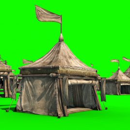 Encampment Tent – 3D Model Animated