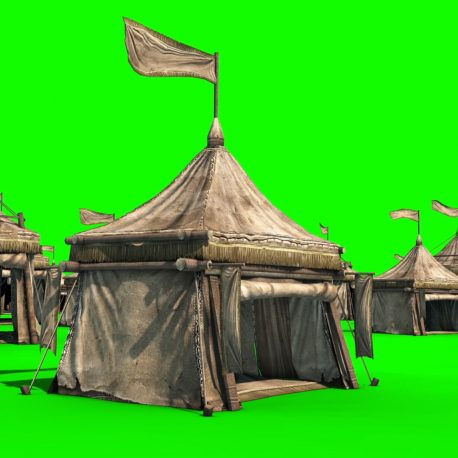 Encampment Tent Flag Wind – PixelBoom