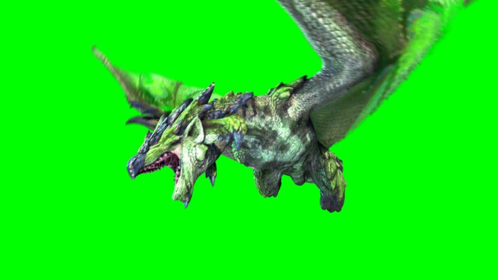 Green Dragon – 3D Model Animated