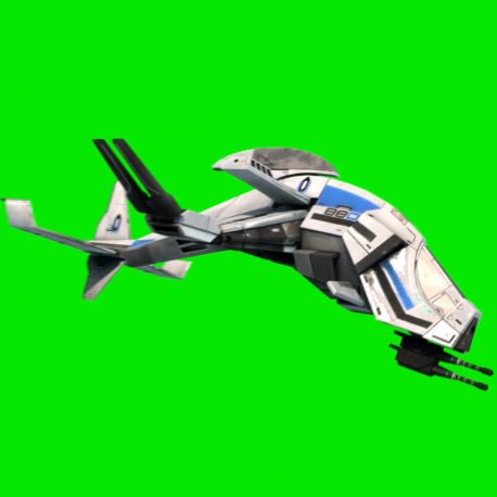 Gunship Drone Interceptor Armed – PixelBoom