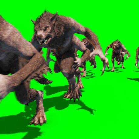 Horde of Werewolves Assaults – PixelBoom
