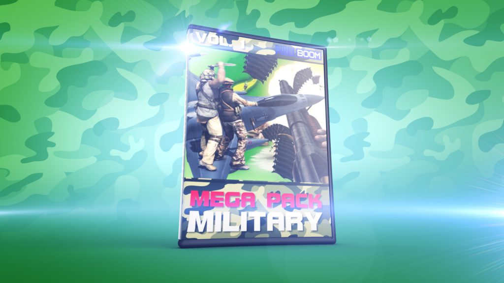 Mega Pack MILITARY vol.1