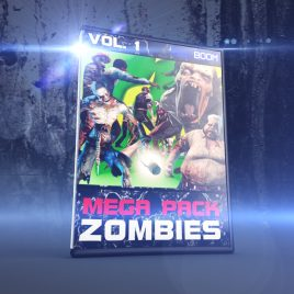 Mega Pack ZOMBIES vol.1