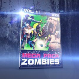 Mega Pack ZOMBIES vol.1