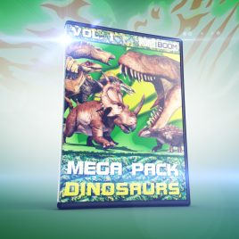 Mega Pack DINOSAURS vol.1