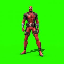 Deadpool Marvel – 3D Model Animated