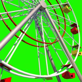 Ferris Wheel – 3D Model Animated