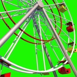 Ferris Wheel – 3D Model Animated