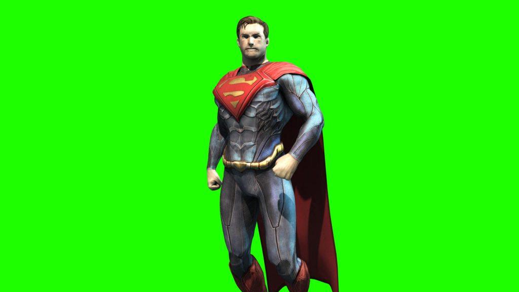 Superman Superhero – 3D Model Animated