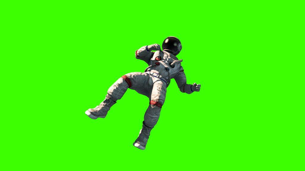 Astronaut Fly – 3D Model Animated