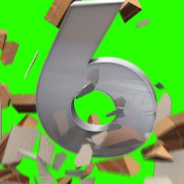 Countdown Destruction – 3D Model Animated