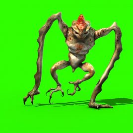 Monster Alien Legs – 3D Model Animated