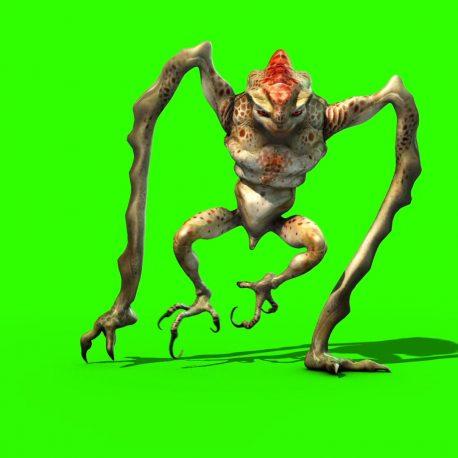 Monster Alien long Legs – PixelBoom