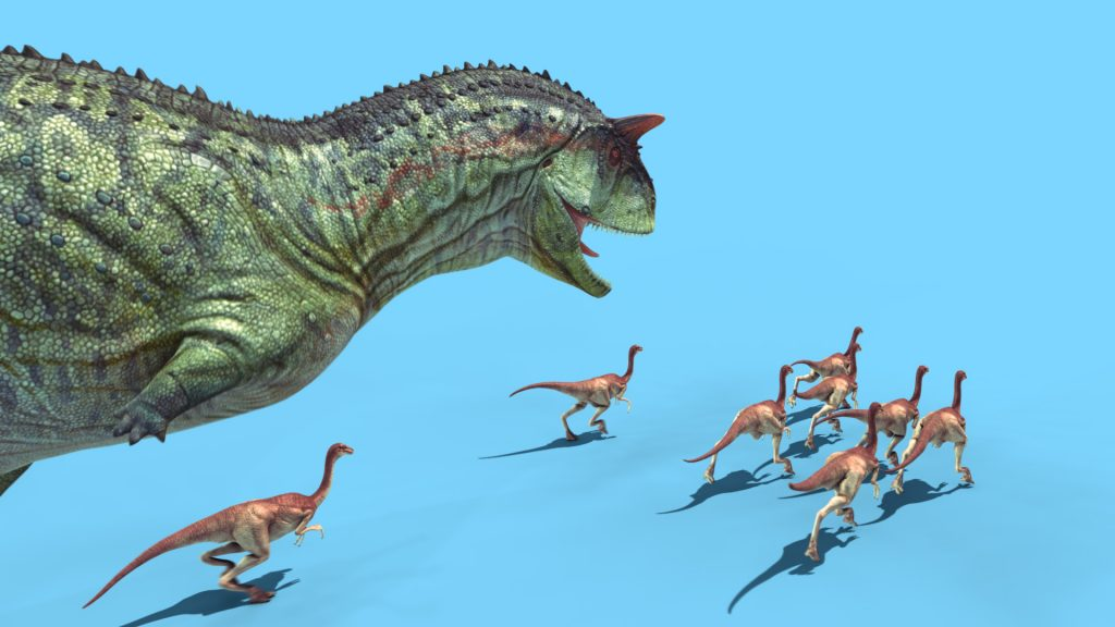 Carnotaurus Attack – 3D Model Animated