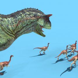 Carnotaurus Attack – 3D Model Animated