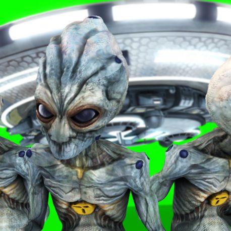 UFO Alien Spaceship The Last Woman – PixelBoom