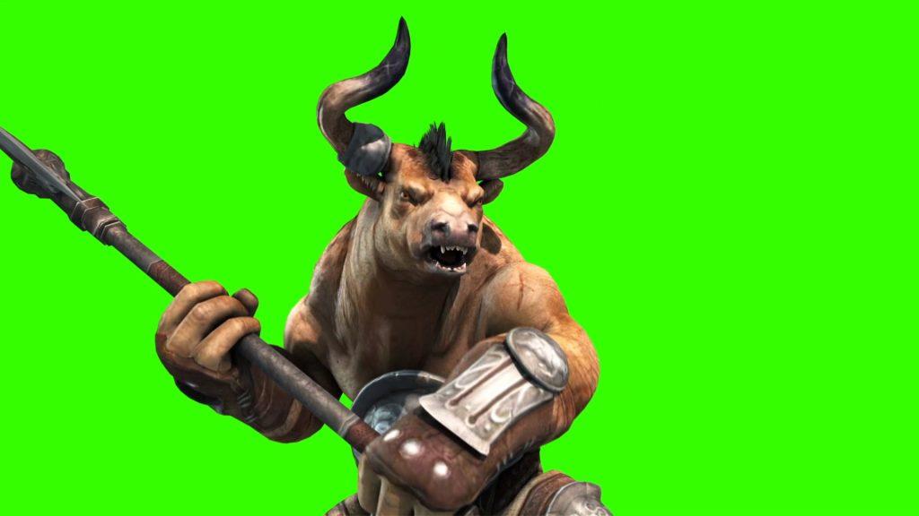 Minotaurs Monster – 3D Model Animated