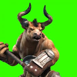 Minotaurs Monster – 3D Model Animated