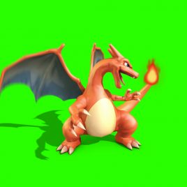 Pokemon Go Charizard – 3D Model Animated