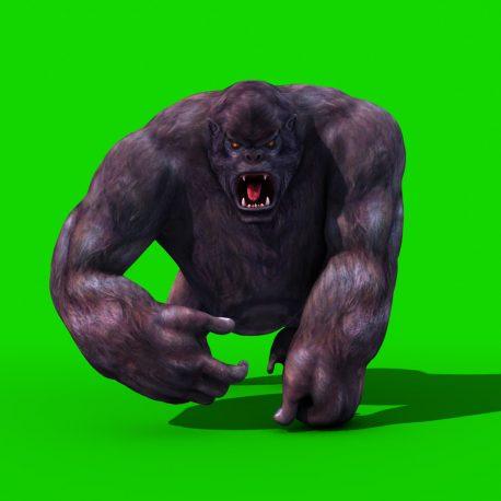 gorilla-walk-attack-pixelboom