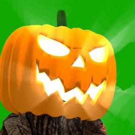 Jack Lantern Halloween – 3D Model Animated