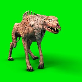 Zombie Dog Halloween – 3D Model Animated