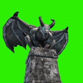 Gargoyles Animated Statue PixelBoom