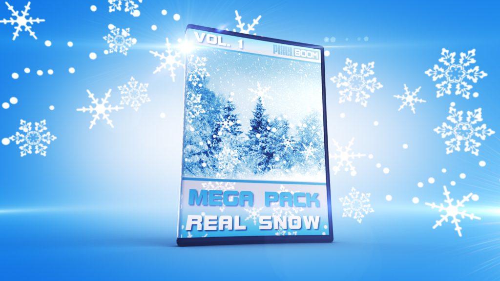 Mega Pack REAL SNOWFLAKES vol.1