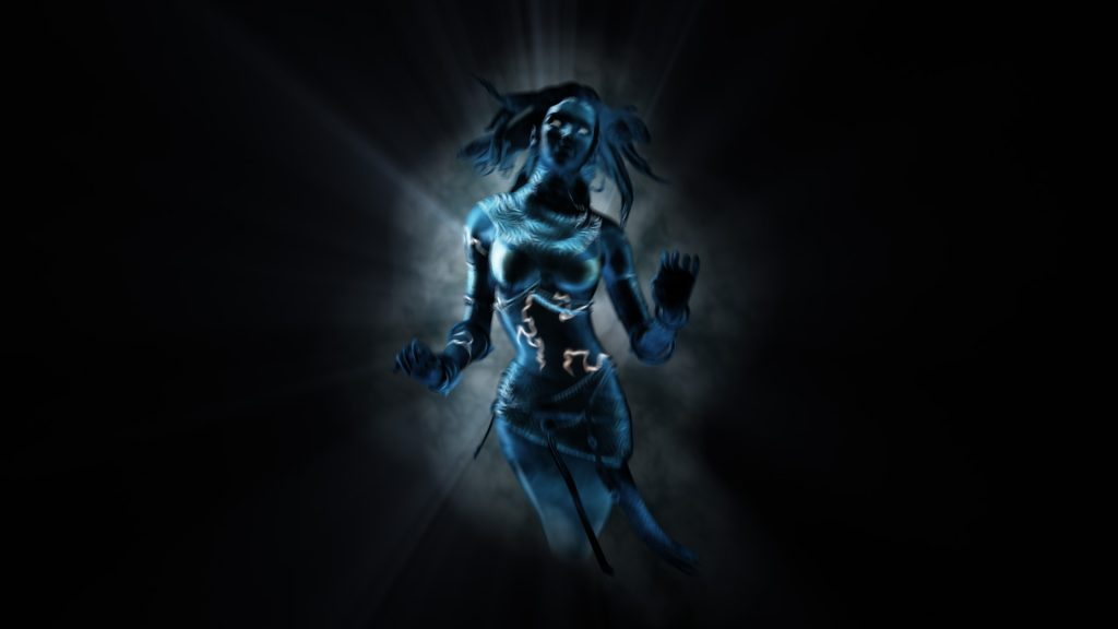 Woman Ghost – 3D Model Animated