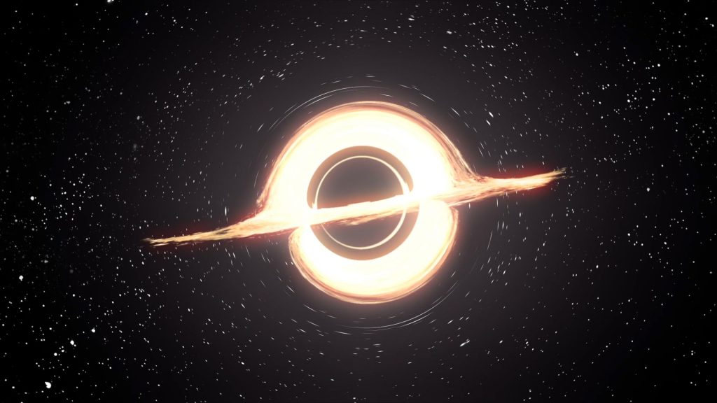 Black Hole Loop – 3D Model Animated
