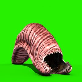 Giant Worm Monster Crawl PixelBoom