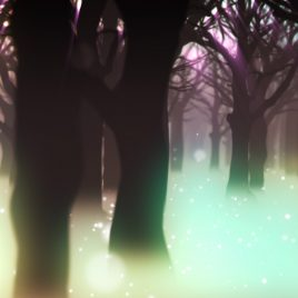 Magic Forest Eden Trees Animated Background Wallpaper PixelBoom