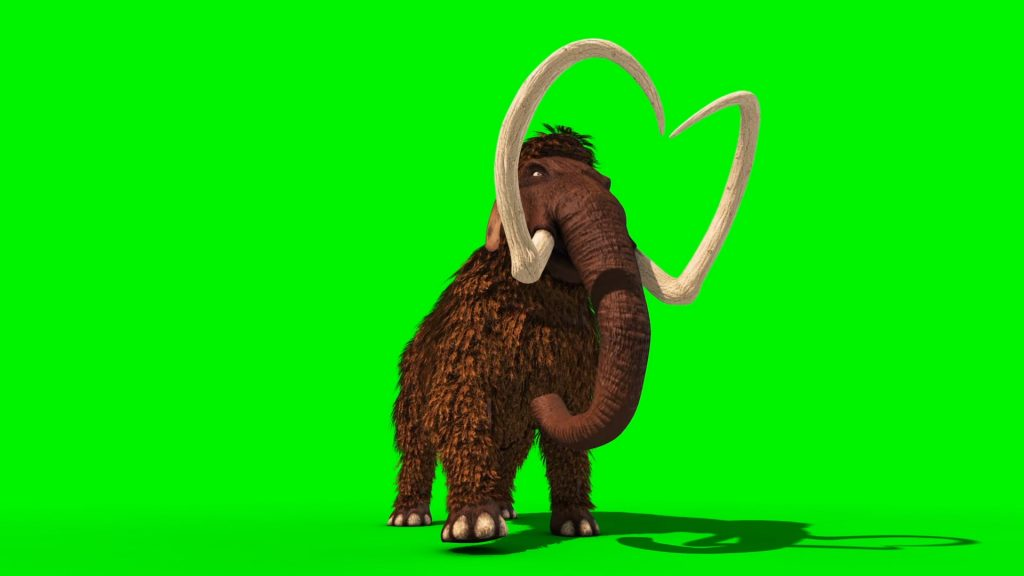 Mammoth Prehistoric – 3D Model Animated