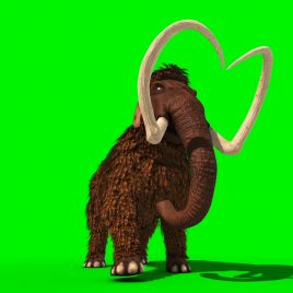 Mammoth Prehistoric Animal Jurassic PixelBoom