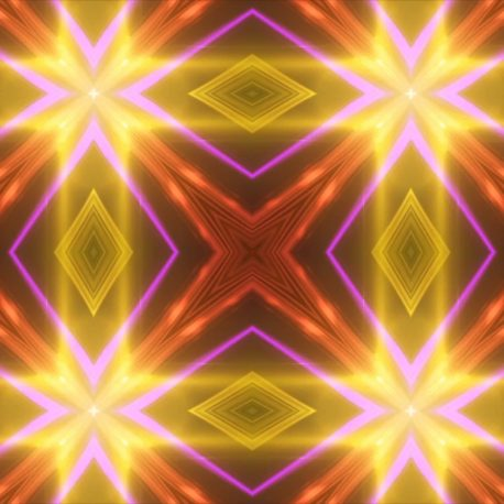 Kaleidoscope Colorful Loop Animated Background PixelBoom
