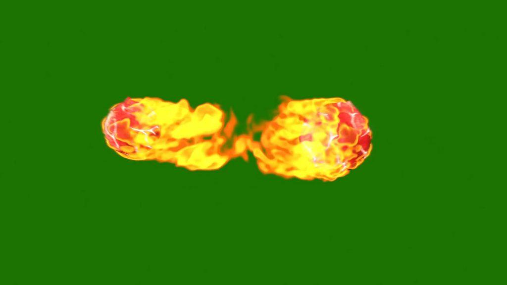 Magic Fire Ball – 3D Model Animated