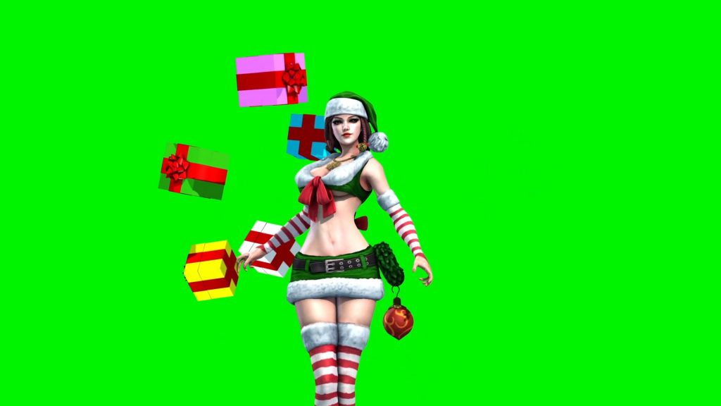 Sexy Elf Christmas – 3D Model Animated