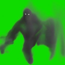 Monster Smokeman Boogeyman PixelBoom