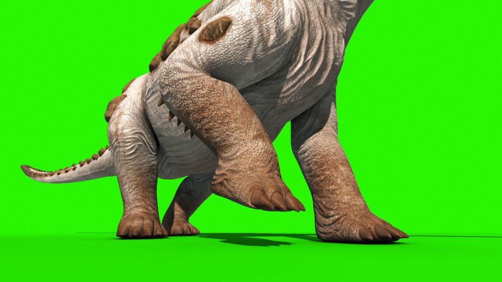 Dinosaur Titanosaur – 3D Model Animated
