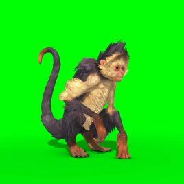 Monkey Walks Runs Attacks Dies PixelBoom