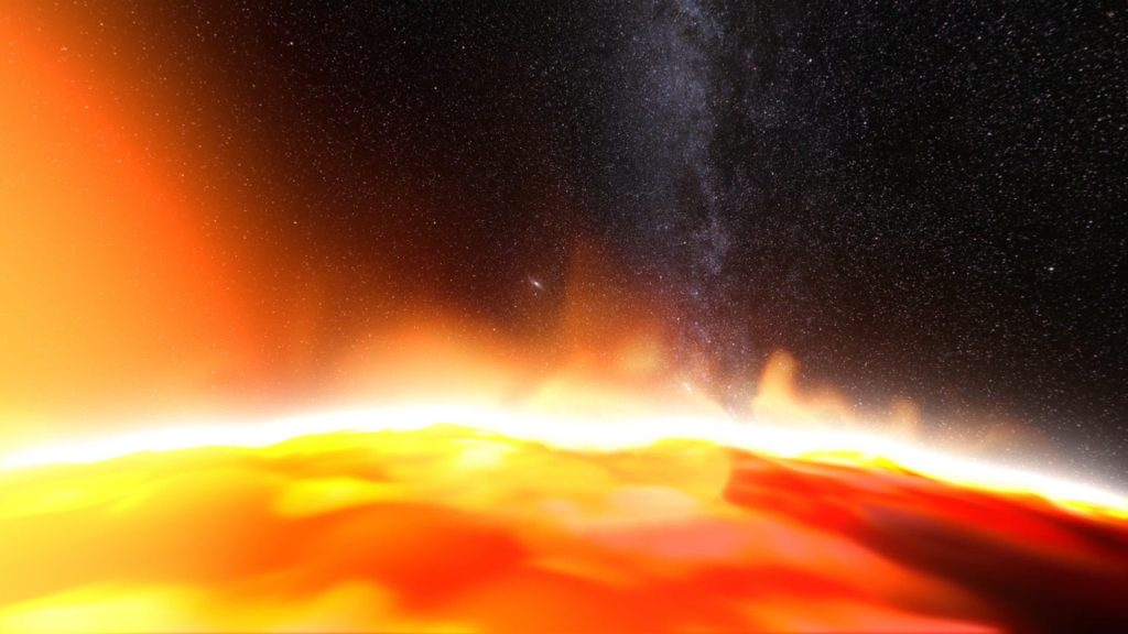 Around the Sun – 3D Model Animated