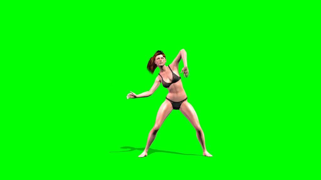 Sexy Girl Dances – 3D Model Animated