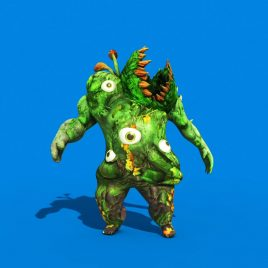 Monster man Carnivorous Plant PixelBoom